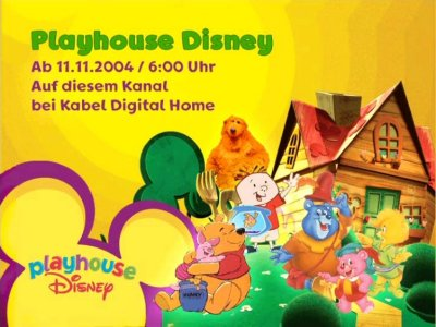 Playhouse Disney - Startinfo