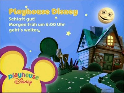 Playhouse Disney - Programmende